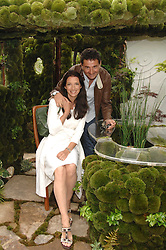 RACHEL DE THAME and her husband GERALD DE THAME at the 2008 Chelsea Flower Show 19th May 2008.<br /><br />NON EXCLUSIVE - WORLD RIGHTS