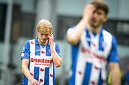20-05-2017: Voetbal: FC Utrecht v SC Heerenveen: Utrecht<br /> <br /> (L-R) Morton Thorsby (SC Heerenveen) baalt van het verlies na afloop van het Eredivisie duel tussen FC Utrecht en Heerenveen op 20 mei 2017 in stadion Galgenwaard tijdens 1/2 finale play-offs <br /> <br /> 1/2 finale Play-offs, Eredivisie - Seizoen 2016 / 2017<br /> <br /> Foto: Gertjan Kooij
