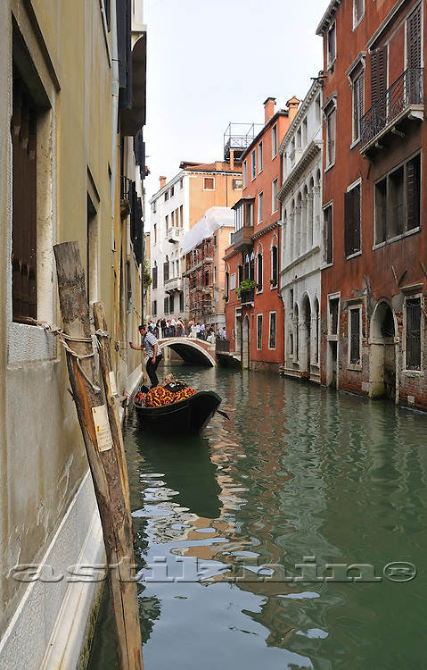 On canal of Venice
