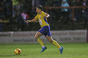 Accrington Stanley midfielder Sean McConville  during the Sky Bet League 2 match between York City and Accrington Stanley at Bootham Crescent, York, England on 28 November 2015. Photo by Simon Davies.