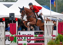 Kalf Cristel (NED) - Easy Boy<br /> 4 jarige Springpaarden<br /> KWPN Paardendagen Ermelo 2013<br /> © Dirk Caremans