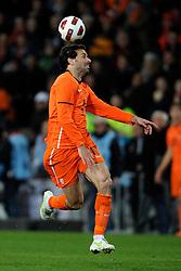 09-02-2011 VOETBAL: NEDERLAND - OOSTENRIJK: EINDHOVEN<br /> Netherlands in a friendly match with Austria won 3-1 / Ruud van Nistelrooy NED<br /> ©2011-WWW.FOTOHOOGENDOORN.NL