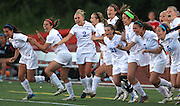 St. Francis High School celebrates their win over Benet Academy in Lisle.
