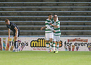 \Nadir Ciftci congratulates Aiden Nesbitt on his winner - Celtic v Dundee - Development League at Cappielow<br /> <br />  - &copy; David Young - www.davidyoungphoto.co.uk - email: davidyoungphoto@gmail.com
