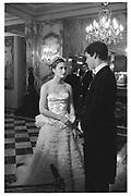 Lauren Bush and her escort Prince Louis de Bourbon.Crillon Haute Couture Ball. Crillon Hotel, Paris. 2 December 2000. © Copyright Photograph by Dafydd Jones 66 Stockwell Park Rd. London SW9 0DA Tel 020 7733 0108<br />                                                www.dafjones.com
