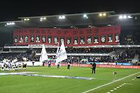 Fotball Menn Eliteserien Rosenborg-Viking<br /> Lerkendal Stadion, Trondheim<br /> 19 november 2017<br /> <br />  Kjernens banner Wall of Fame<br /> <br /> <br /> <br /> Foto : Arve Johnsen, Digitalsport
