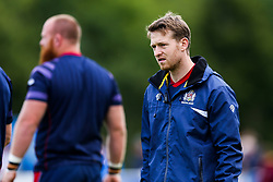 First Team S&C coach Tom Hargroves looks on - Rogan/JMP - 05/08/2017 - RUGBY UNION - Cleve RFC - Bristol, England - Bristol Rugby v Harlequins - Pre-Season Friendly.