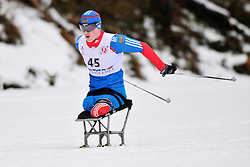 MURYGIN Grigory, RUS at the 2014 IPC Nordic Skiing World Cup Finals - Long Distance