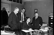 01/02/1964<br /> 02/01/1964<br /> 01 February !964<br /> Agreement signed at Lehane & Hogan Solicitors, Ormond Quay Dublin, by Vocational Teachers Association.