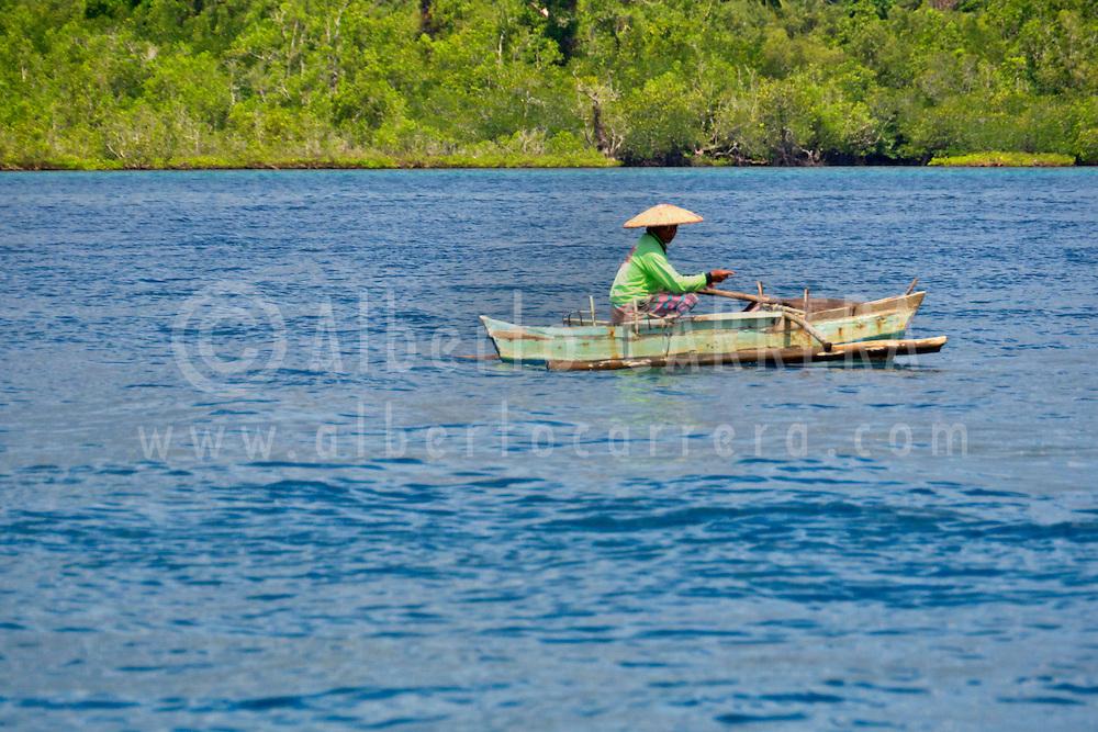 Alberto Carrera, Fishing  Boats, Bunaken National Marine Park, Bunaken, North Sulawesi, Indonesia, Asia