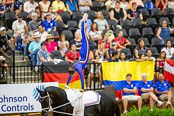 Sneekes Carola, NED, Safari H, Lunger Sneekes Marjo<br /> World Equestrian Games - Tryon 2018<br /> © Hippo Foto - Stefan Lafrenz<br /> 18/09/18