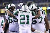 New York Jets take on the Indianapolis Colts at Lucas Oil Stadium - Indianapolis, IN