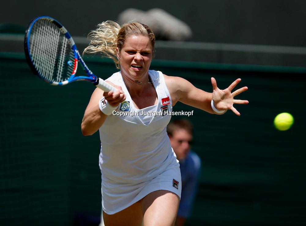 Wimbledon 2010,Sport, Tennis, ITF Grand Slam Tournament,Kim Clijsters (BEL)..Foto: Juergen Hasenkopf..