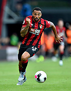Callum Wilson (13) of AFC Bournemouth on the attack during the Premier League match between Bournemouth and Norwich City at the Vitality Stadium, Bournemouth, England on 19 October 2019.
