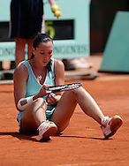 French Open 2008, Roland Garros, Paris, Frankreich,Sport, Tennis, ITF Grand Slam Tournament,  ..Jana Jankovic (SRB)..Foto: Juergen Hasenkopf..