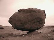 Balanced and Bemused. Just outside Moab, near Canyonlands National Park. - 6/7/2007