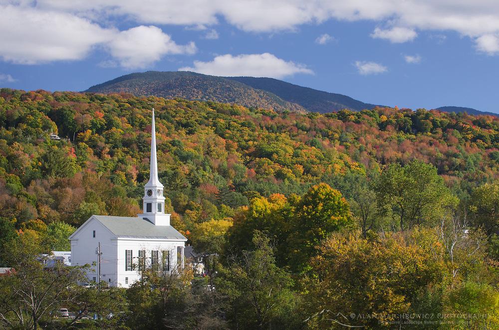 Stowe Vermont church