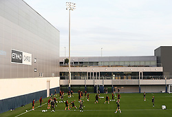 A general view of the Etihad Campus as the Manchester City players train  - Mandatory by-line: Matt McNulty/JMP - 31/10/2016 - FOOTBALL - City Football Academy - Manchester, England - Manchester City v Barcelona - UEFA Champions League - Group C