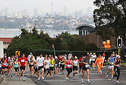 Pixs taken during the 2011 Sun Herald City to Surf. <br /> Images were shot from Rawson rd Rose Bay looking down New South Head Road as competitors make their way up Heartbreak Hill.<br /> Shots of competitors making their way along Military Road Dover Heights around Raleigh street. <br /> Heading down Military Road towards Bondi Beach and finish line.
