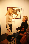 SARAH HARTLEY AND JO BOWEN, 'Art is Why I get up in the morning' Unseen pieces from Elizabeth Frink's studio and work by four contemporary British artists: Lin Jammet, amanda Cornish, Kitty Blandy and Olivia Lomench gill. Ryder St. gallery. London. 28 March 2006. ONE TIME USE ONLY - DO NOT ARCHIVE  © Copyright Photograph by Dafydd Jones 66 Stockwell Park Rd. London SW9 0DA Tel 020 7733 0108 www.dafjones.com