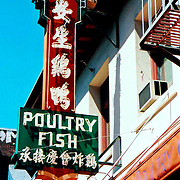 Poultry Fish sign