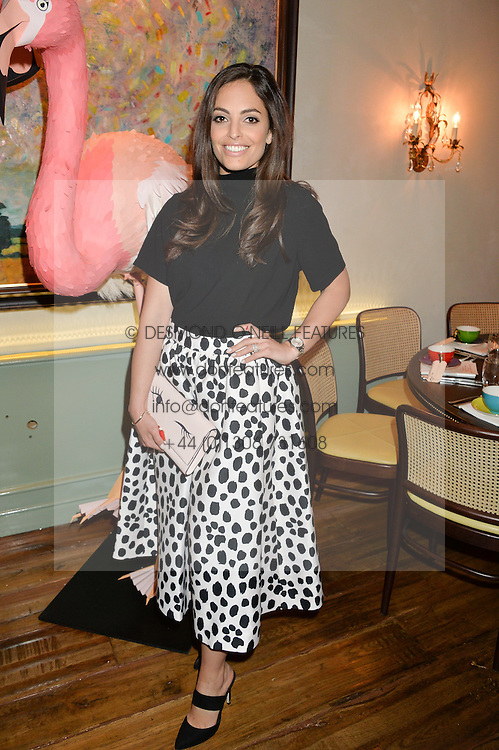 OLIVIA WAYNE at a dinner hosted by Kate Spade NY to celebrate Chelsea in Bloom held at Daphne's, 112 Draycott Avenue, London on 20th May 2015.