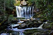 Elakala Falls, located in Blackwater Falls State Park, West Virginia