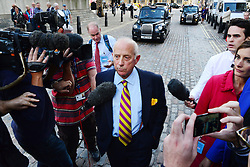 Godfrey Bloom.<br /> UKIP politician Godfrey Bloom leaving UKIP's Annual Conference, Central Hall, Westminster, London, United Kingdom. Friday, 20th September 2013. Picture by Nils Jorgensen / i-Images