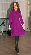 Kate Middleton Visits Royal Opera House, London