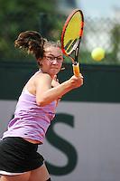 Loudmilla BENCHEIKH - 01.06.2015 - Jour 9 - Juniors - Roland Garros 2015<br />Photo : Nolwenn Le Gouic / Icon Sport