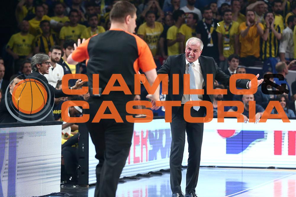 Zeljko Obradovic<br /> Fenerbahce Istanbul - Olympiakos Piraeus<br /> Euroleague Final Four 2017<br /> Finale 1 - 2 Posto<br /> Euroleague 2016/2017<br /> Istanbul, 21/05/2017<br /> Foto M.Ceretti / Ciamillo - Castoria