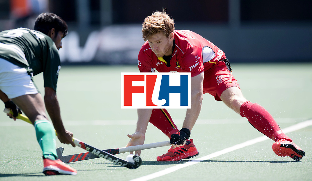 BREDA - Rabobank Hockey Champions Trophy<br /> 5th/6th place Belgium - Pakistan<br /> Photo: Gauthier Boccard.<br /> COPYRIGHT WORLDSPORTPICS FRANK UIJLENBROEK