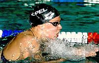 Svømming: 26.11.2001 Rostock, Deutschland,<br />Schwimmerin Franziska van Almsick (Archivfoto) startet bei den deutschen Kurzbahn-Meisterschaften in Rostock.<br /><br />Foto: TOBIAS HEYER, Digitalsport