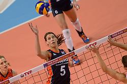 07-01-2016 TUR: European Olympic Qualification Tournament Nederland - Kroatie, Ankara<br /> Nederland moet winnen om als groepshoofd naar de halve finale te gaan / Robin de Kruijf #5