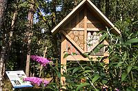 GEIJSTEREN - Insektenhotel op de Golf- en Countryclub Geijsteren. FOTO KOEN SUYK