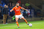 Blackpool midfielder Liam Feeney in action  during the EFL Sky Bet League 1 match between Bolton Wanderers and Blackpool at the University of  Bolton Stadium, Bolton, England on 7 October 2019.