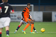 Dundee United trialist Felitciano Zschusschen - Dundee v Dundee United in the SPFL Development League at Links Park, Montrose. Photo: David Young<br /> <br />  - &copy; David Young - www.davidyoungphoto.co.uk - email: davidyoungphoto@gmail.com