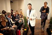 ALAN ENFIELD, Stephane St. Jaymes Spring Summer 2011 fashion show.<br /> The Westbury Mayfair, Bond Street, London,DO NOT ARCHIVE-© Copyright Photograph by Dafydd Jones. 248 Clapham Rd. London SW9 0PZ. Tel 0207 820 0771. www.dafjones.com.