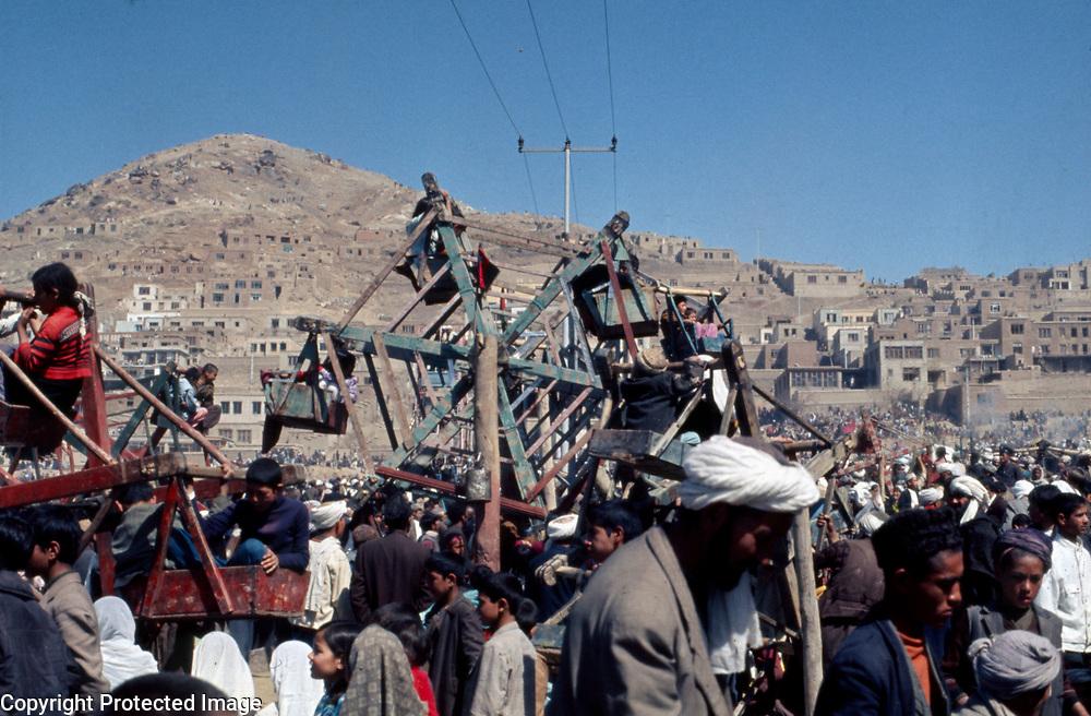 21 March 1974<br /> The Ferris-wheels were always full.