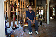 Mo Nguyen- 80 years old- lives a lone-Auto mechanic shop behind house-also ruined. <br /> Has FEAM trailed for two weeks but still no power for it.