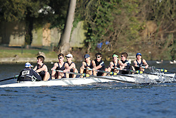 2012.02.25 Reading University Head 2012. The River Thames. Division 2. Eton College Boat Club B IM2 8+