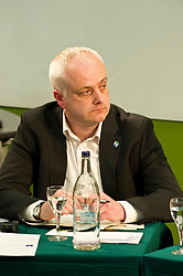 Pictured: Mark Ruskell (Greens candidate for  Mid Scotland and Fife)<br /> <br /> Candidates from the five main parties will face questions from both a live audience and viewers at home via videolink and social media at an event organised by Stop Climate Chaos Scotland and chaired by journalist David Torrance. The panelists are Labour's Sarah Boyack, Mark Ruskell of the Greens, Ben MacPherson of the SNP, the Lib Dems' Ettie Spencer and Tory Jeremy Balfour<br /> <br /> Ger Harley | EEm 18 April 2016