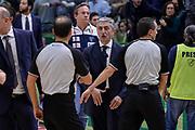 DESCRIZIONE : Campionato 2015/16 Serie A Beko Dinamo Banco di Sardegna Sassari - Dolomiti Energia Trento<br /> GIOCATORE : Marco Calvani Togla Sahin<br /> CATEGORIA : Fair Play Postgame Arbitro Referee<br /> SQUADRA : Dinamo Banco di Sardegna Sassari<br /> EVENTO : LegaBasket Serie A Beko 2015/2016<br /> GARA : Dinamo Banco di Sardegna Sassari - Dolomiti Energia Trento<br /> DATA : 06/12/2015<br /> SPORT : Pallacanestro <br /> AUTORE : Agenzia Ciamillo-Castoria/L.Canu