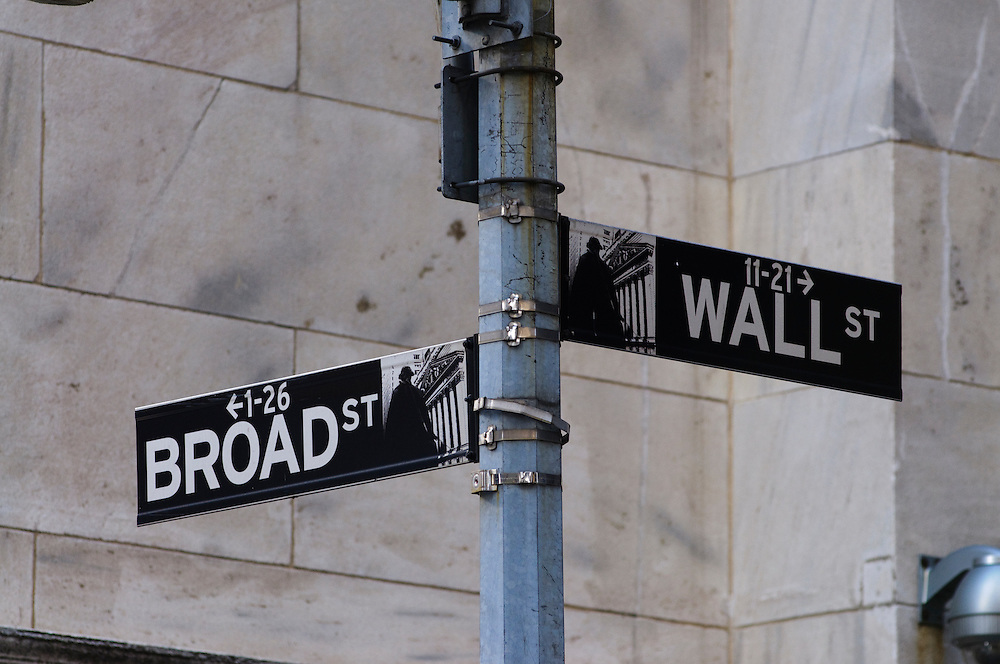 New York City, NY,  Wall Street Signs