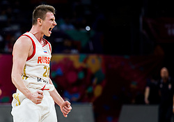 Andrey Vorontsevich of Russia reacts during basketball match between National Teams of Russia and Serbia at Day 16 in Semifinal of the FIBA EuroBasket 2017 at Sinan Erdem Dome in Istanbul, Turkey on September 15, 2017. Photo by Vid Ponikvar / Sportida