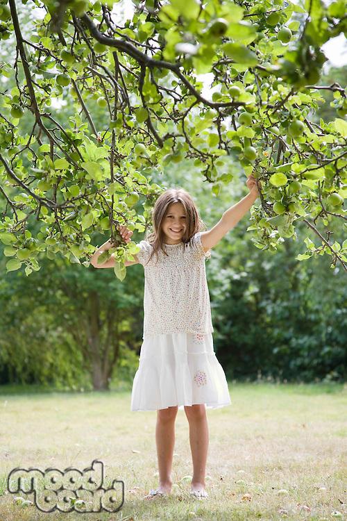 Young Girl Wearing Dress