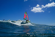 Windsurfing, Diamond Head, Waikiki, Oahu, Honolulu, Hawaii