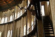 12.10.2006 Warszawa Stara gazownia warszawska.Fot Piotr Gesicki Old ruined gasworks in Warsaw Poland photo Piotr Gesicki