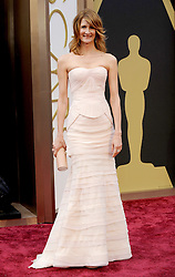 Laura Dern arriving to the 2014 Oscars at the Hollywood and Highland Center in Hollywood, California, USA,  Sunday, 2nd March 2014. Picture by Hollywood Bubbles / i-Images<br /> UK ONLY