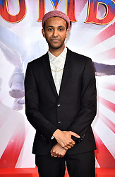 Ragevan Vasan attending the European premiere of Dumbo held at Curzon Mayfair, London.